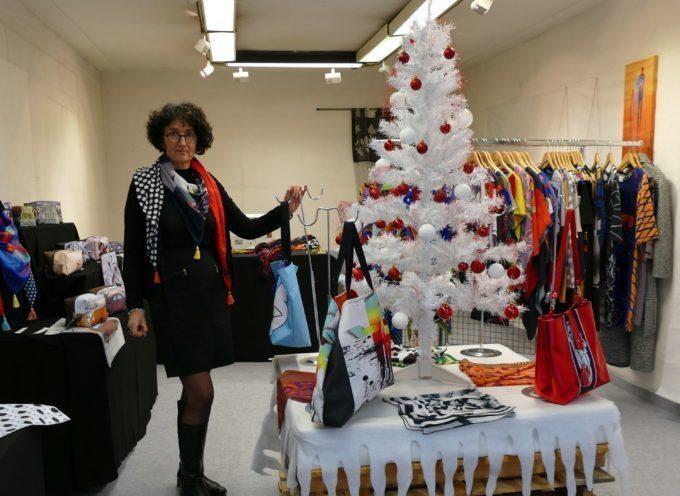 Carbonne : Sylvie Pomarelle et sa boutique éphémère