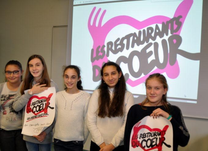 Montréjeau : Projet caritatif pour cinq collégiennes