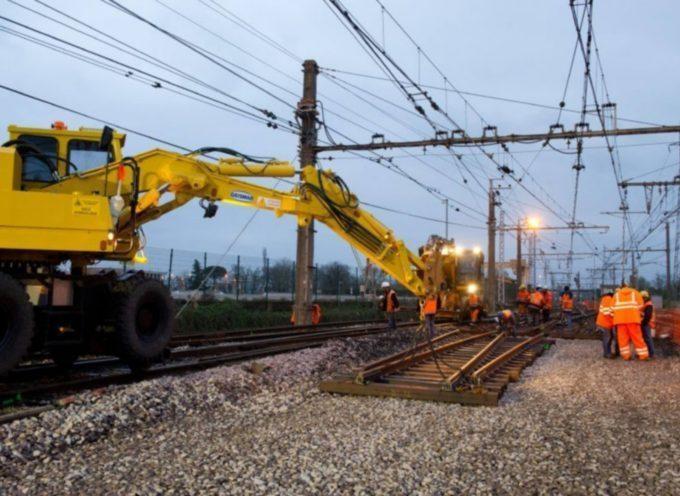 Travaux SNCF de modernisation entre Muret et Boussens
