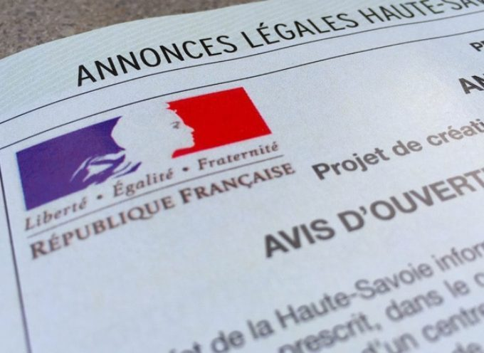 Annonce légale de la mairie de Saint Julien sur Garonne sur le droit de préemption urbaine