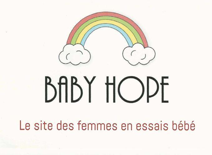 Baby Hope, le site des femmes en essais bébé