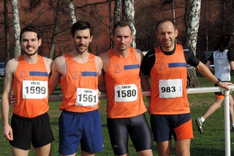 Jeremy, Pierre, Julien et Nicolas
