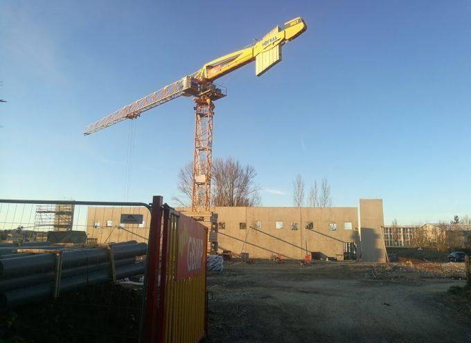 Cazères : Le chantier du nouveau gymnase est lancé