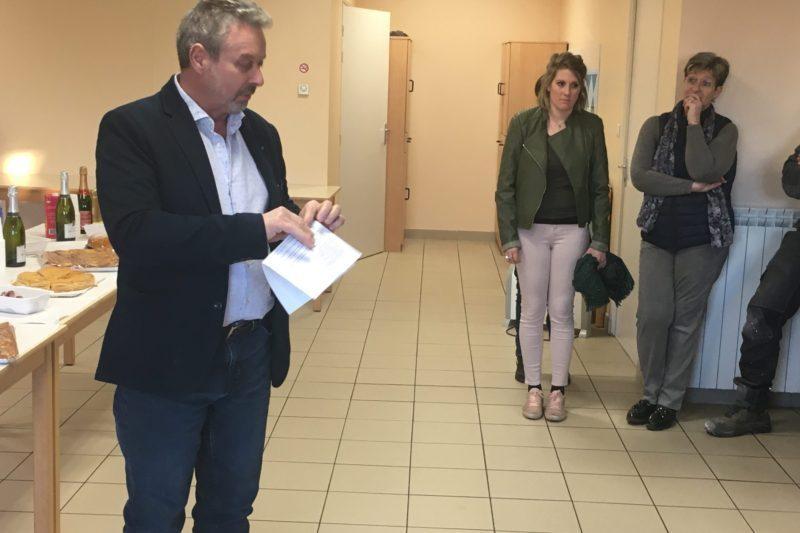 Archives /Le président Jean Marc Esquirol