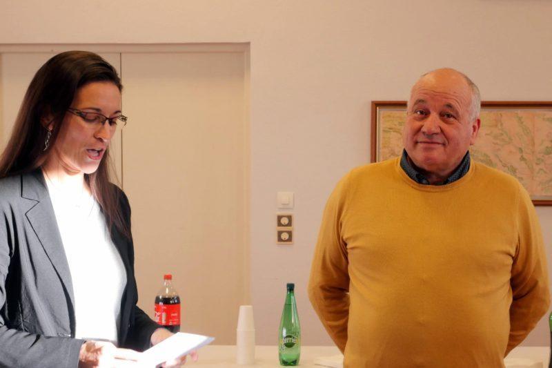 Ingrid Laisné et Patrick Saulneron