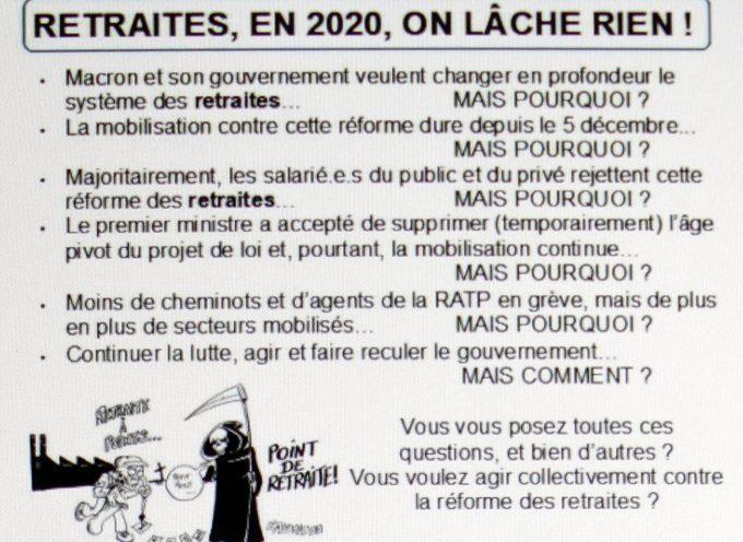 AG des grévistes du Sud Toulousain.