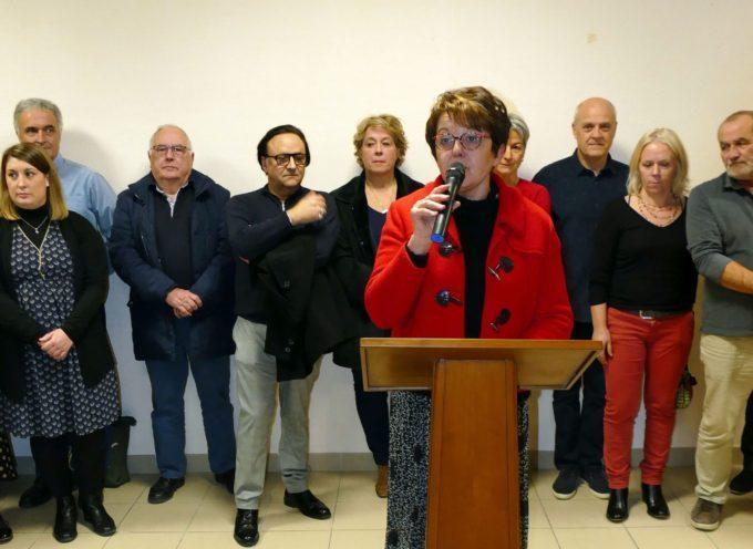 Rieux Volvestre: Maryse Vezat, des vœux empreints d'humanisme et de partage