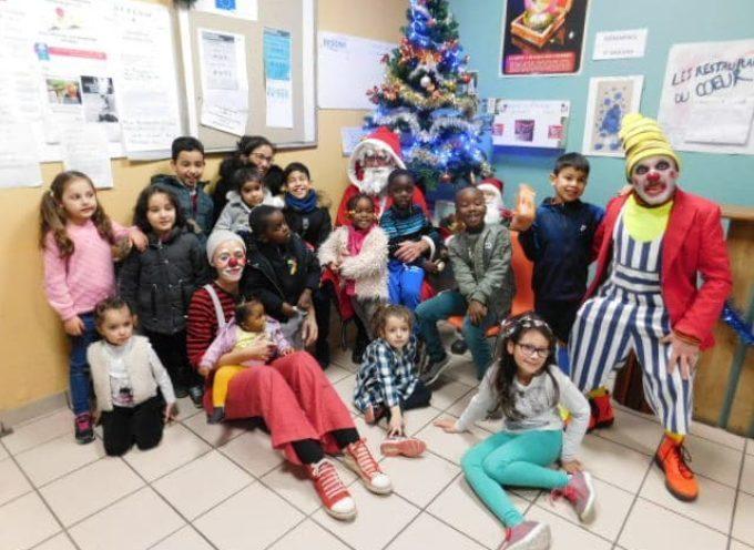 Noël pour les enfants aux restos du cœur de Saint Gaudens