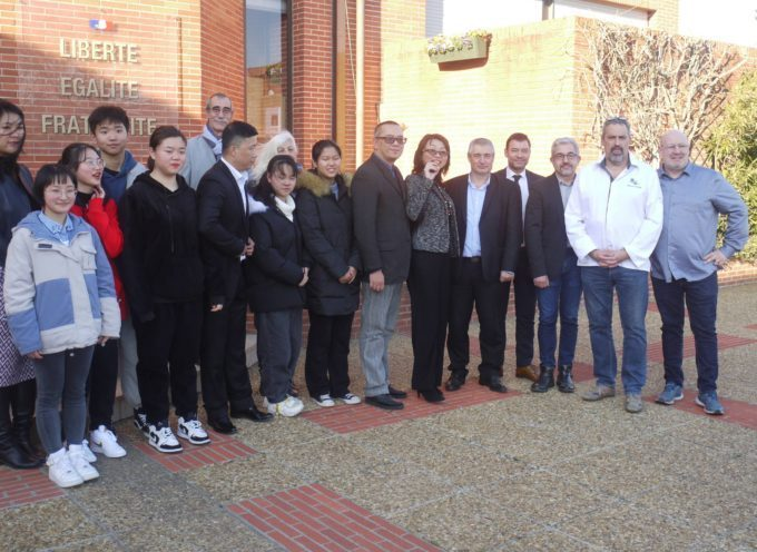 L'Ecole Supérieure des métiers de Muret accueille des élèves chinois