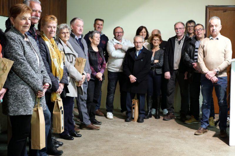 Le conseil municipal et les lauréats