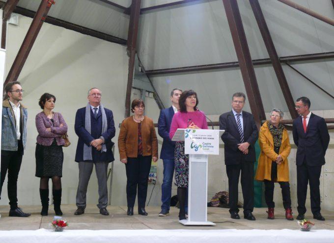 Les vœux de la Communauté de Commune Cagire Garonne Salat