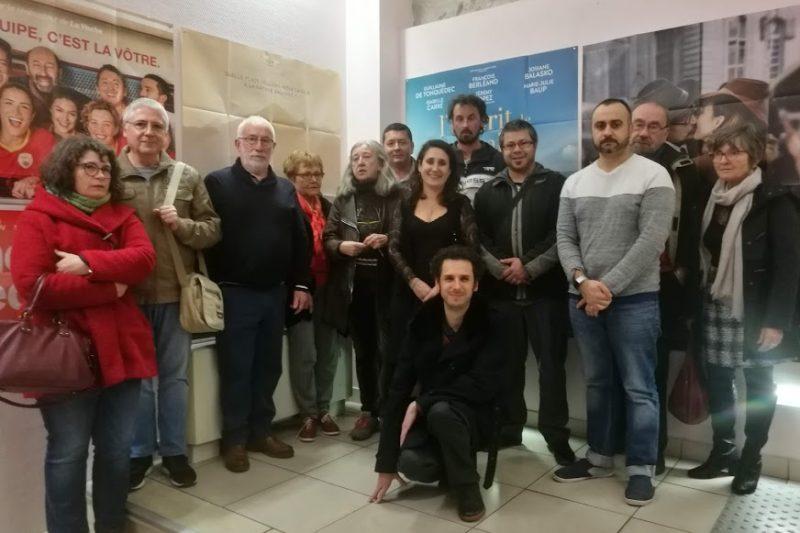 Les adhérents de l'association Les Amis du Cinéma