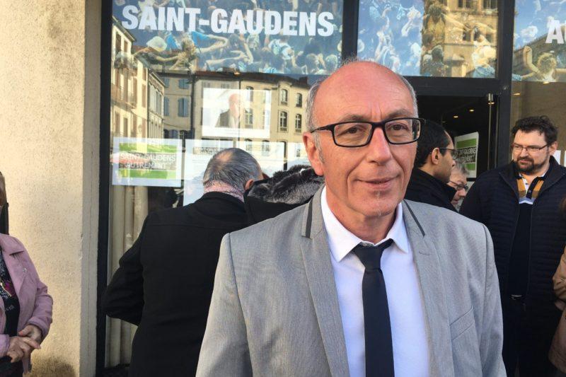 Yves Louis, tête de liste de Saint Gaudens Autrement