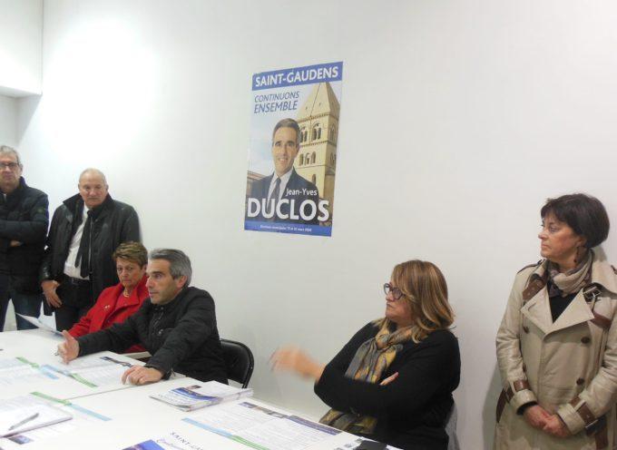 Saint-Gaudens : Jean-Yves Duclos présentait son programme