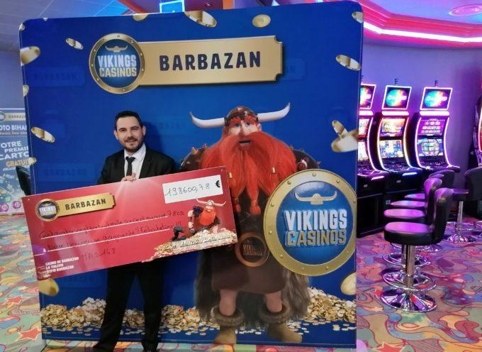 Jackpot de 198 600.78 € au casino de Barbazan !