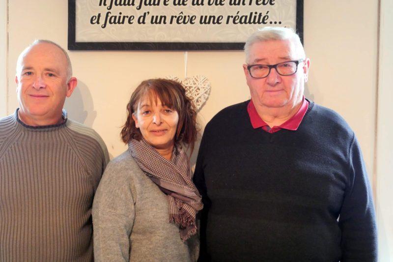 De g à d : JF Puissegur, Malika Mechitoua et Arnaud Dore
