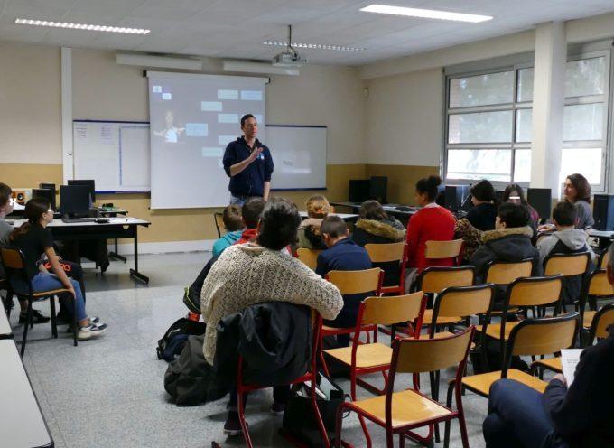 Collège Abbal à Carbonne : Mieux informer sur les pratiques du numérique!