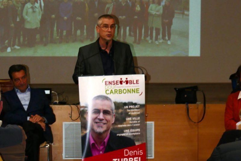 Denis Turrel ouvre la réunion