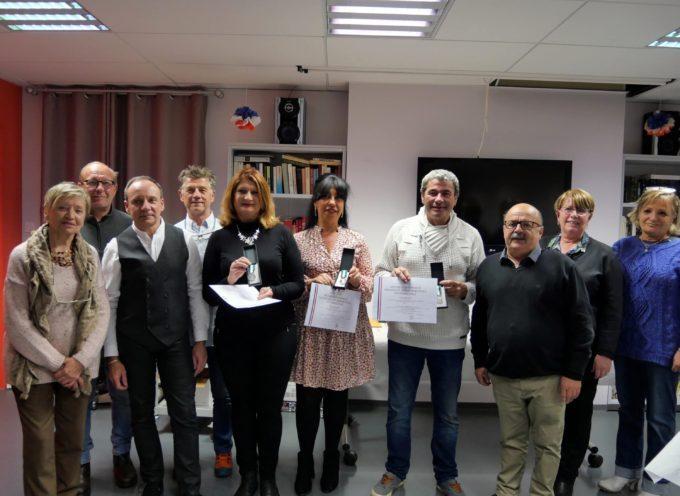 Montréjeau : Trois médailles à l'Ehpad du Mont Royal