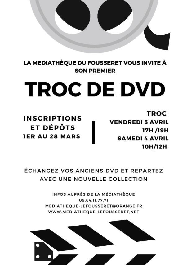 Troc DVD Le Fousseret