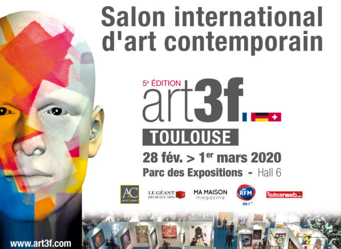 Art3f Toulouse, 5ème édition du salon international d'art contemporain