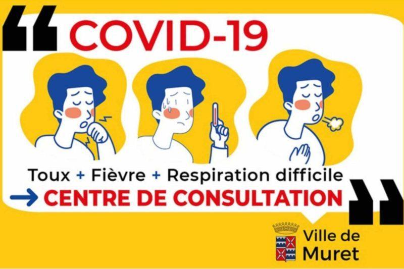 Un centre de consultation du Covid 19 à Muret