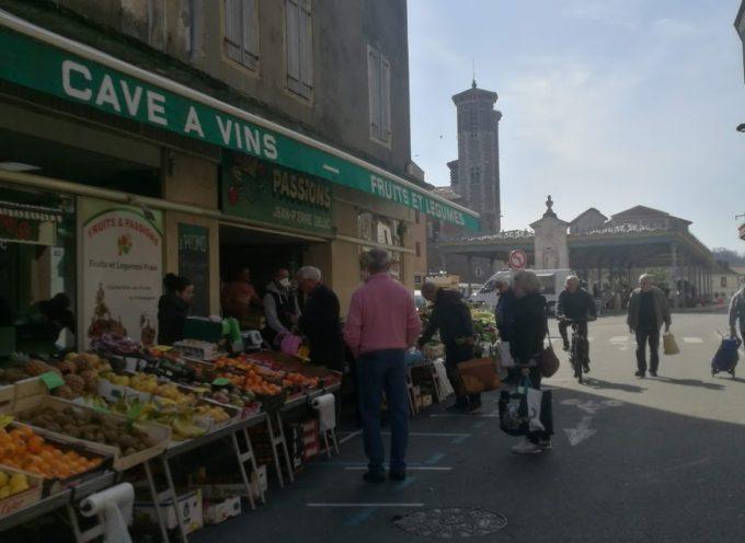 Covid-19 : Le marché de Cazères continue et s'adapte aux gestes barrières