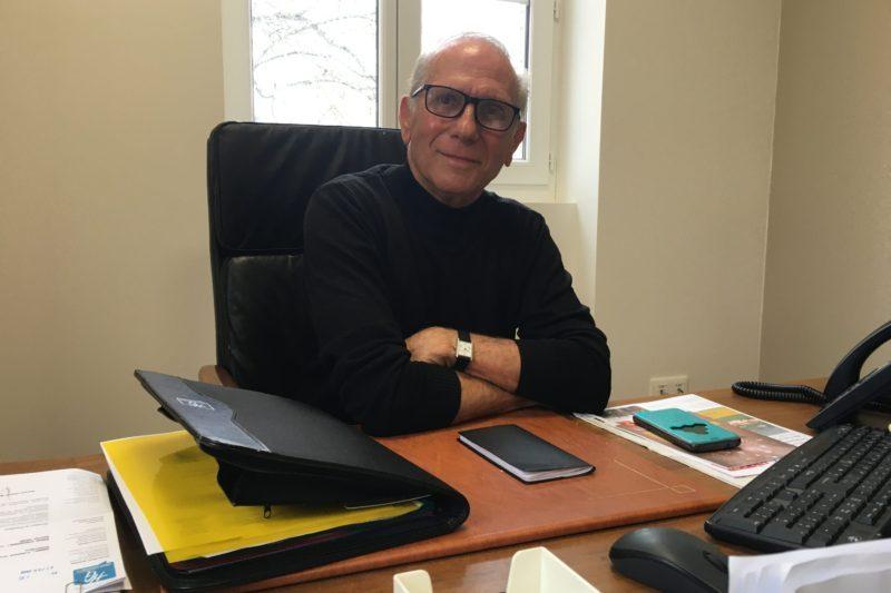 Gérard Roujas, président du pays sud toulousain