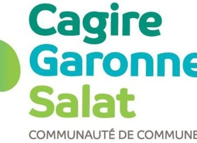La Communauté de Communes Cagire Garonne Salat recrute !