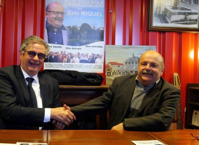 Montréjeau Municipales : Georges Méric, soutien indéfectible pour Eric Miquel