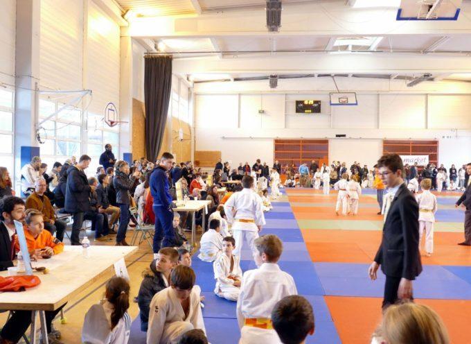 Compétition de judo : la Coupe de Carbonne