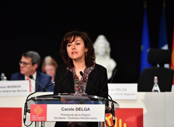 Assemblée plénière : Discours d'ouverture de la présidente de Région, Carole Delga