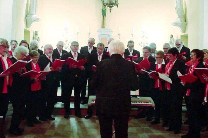 La chorale de Couret est une des chorales qui devait se produire.