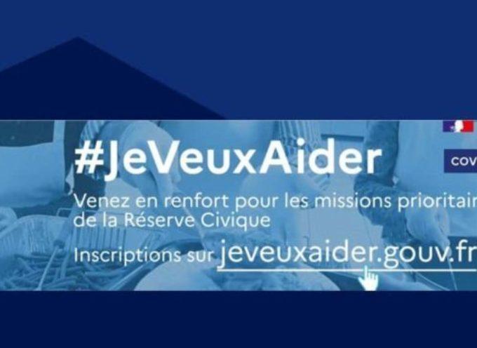 Lancement de la plateforme  jeveuxaider.gouv.fr