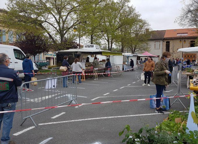 Des nouvelles du marché de Rieux.