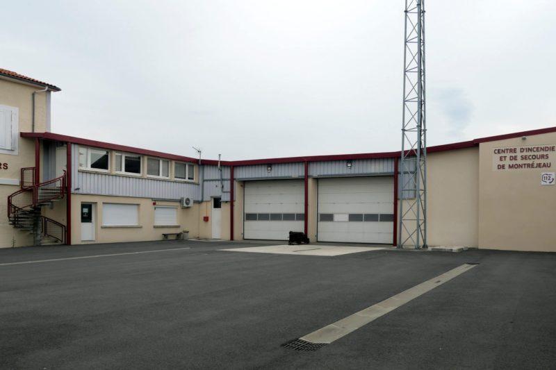 Le centre de secours de Montréjeau