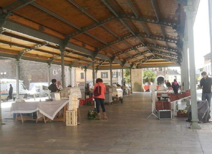 Réouverture du marché de Cazères