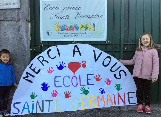 Montréjeau : Sainte Germaine au secours du personnel soignant