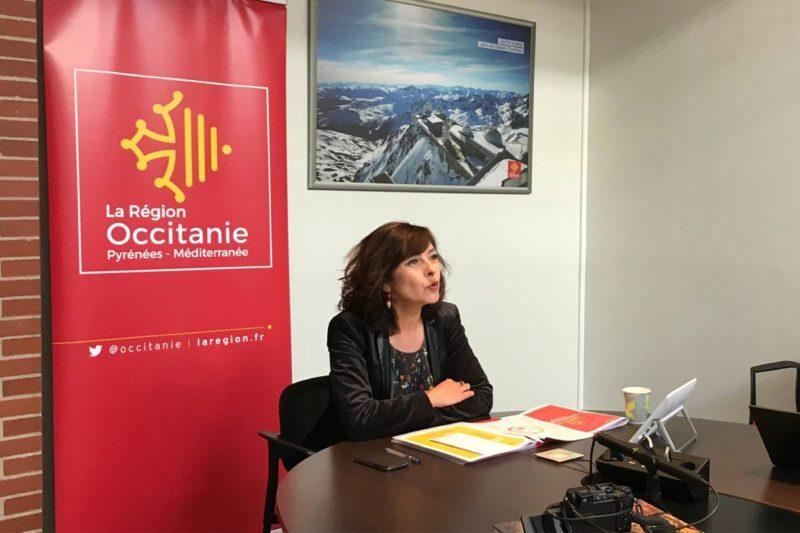 Carole Delga présidente de la Région Occitanie