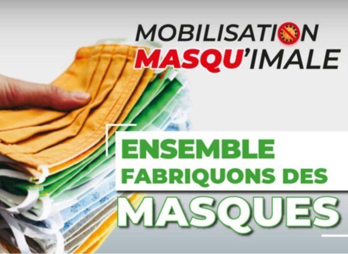Mobilisation citoyenne pour confectionner des masques à Muret