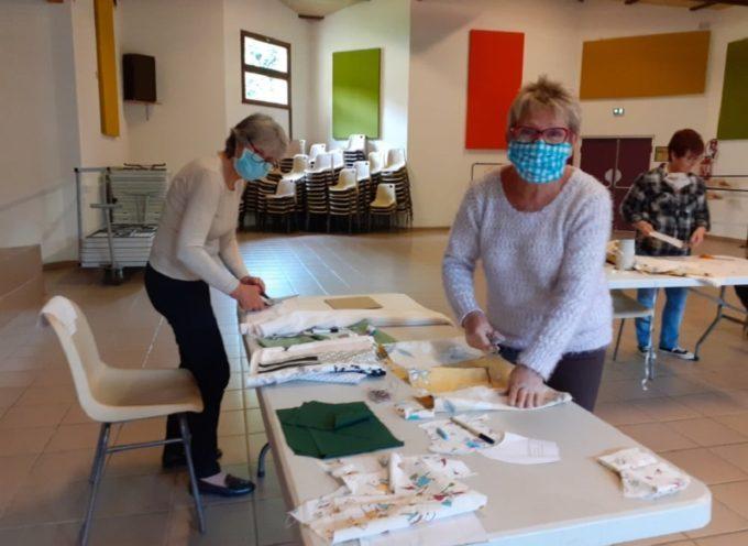 La mairie de Saint-Michel distribue des masques artisanaux à ses administrés