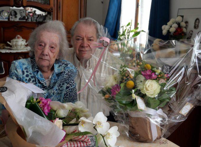 Gourdan Polignan : Aimée, centenaire honorée