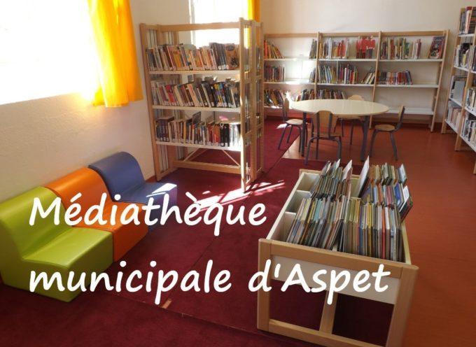 Médiathèque Municipale d'Aspet – Nouveau communiqué!