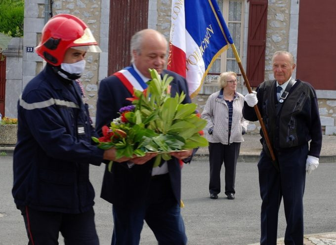 Gourdan-Polignan : le 8 mai commémoré