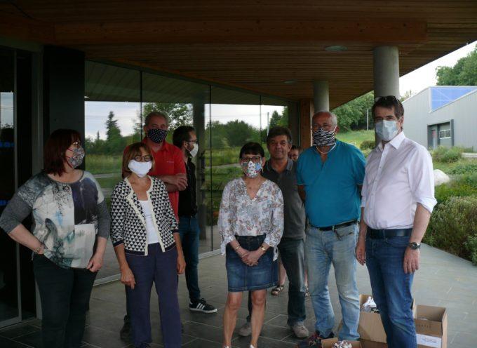Les maires de Cagire-Garonne-Salat distribuent les masques – Ce qu'ils en disent!