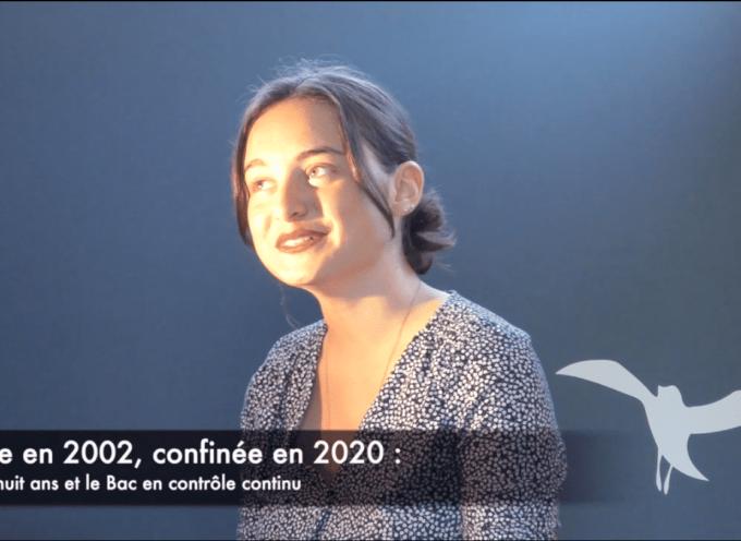 Née en 2002, confinée en 2020 : Dix-huit ans et le Bac en contrôle continu (vidéo)