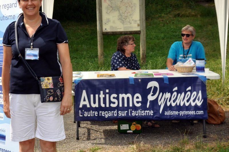 Carole Saint Orens, présidente d'Autisme Pyrénées (Archives JPC).