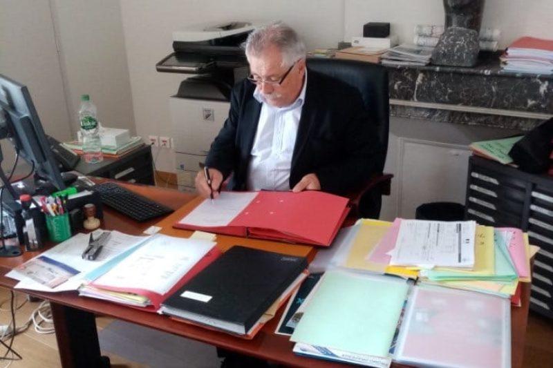Pierre Lagarrigue dont la place de maire est remise en question ?