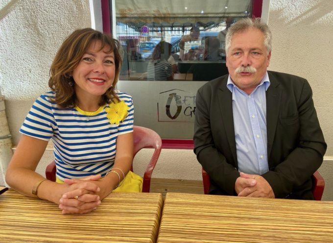 Le Fousseret: Carole Delga vient en voisine soutenir le maire sortant Pierre Lagarrigue