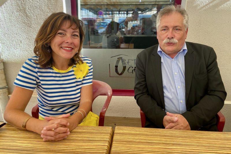 Carole Delga et Pierre Lagarrigue